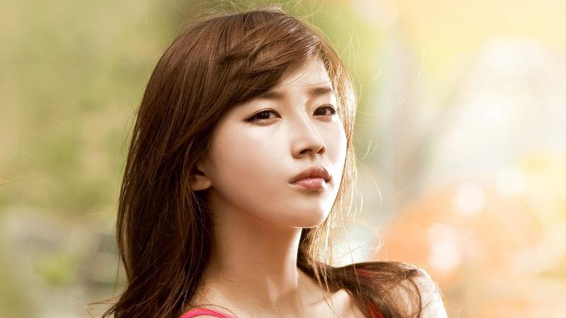 chica de corea del sur